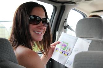 EVa Hamori road trip to Whistelr
