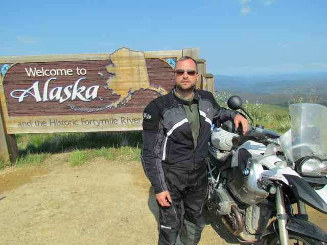 motorbike Alaska Hamori