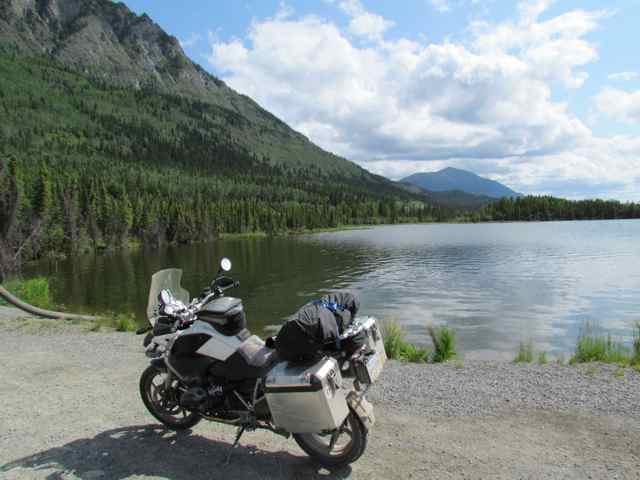 Alaska via motorbike