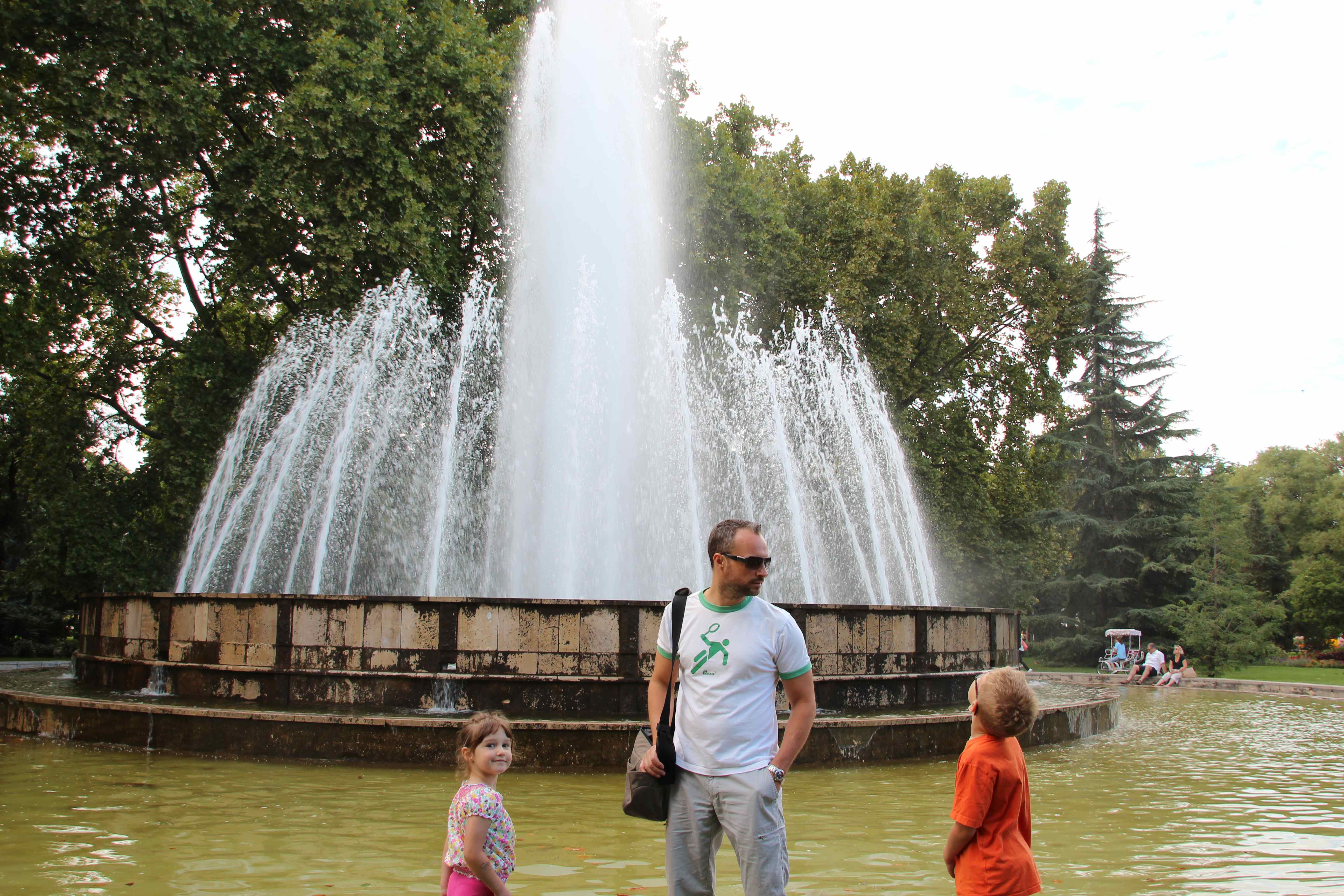 city park fountains Budapest