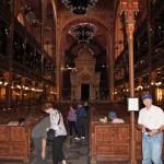 inside Budapest Synagogue
