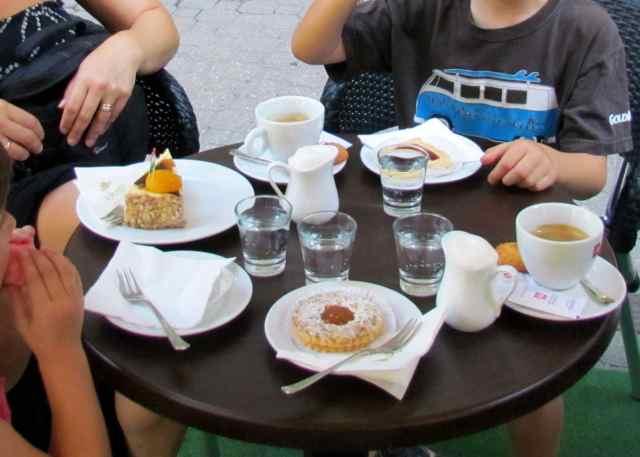 Anna cafe Budapest Hungary