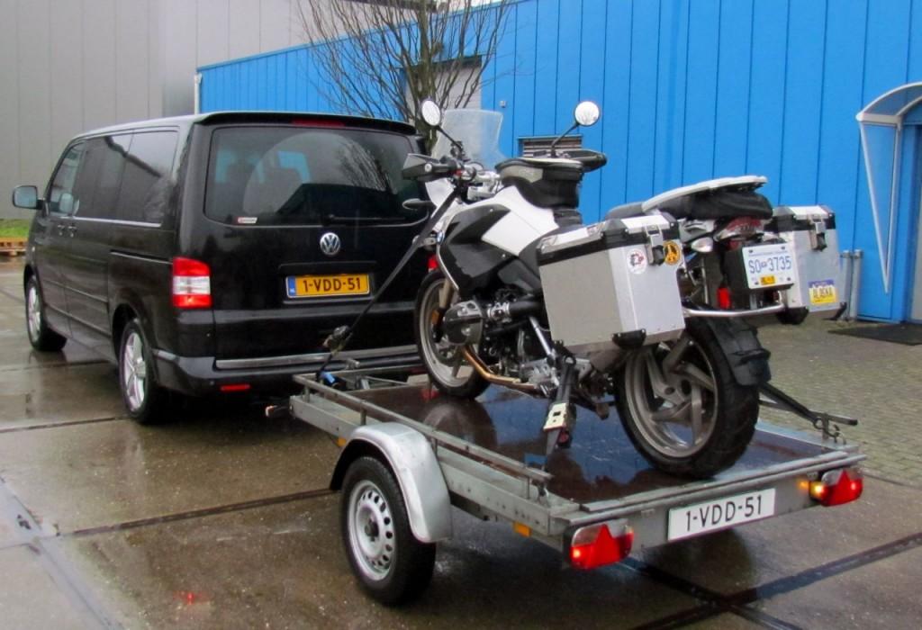 Alfonz's motorbike