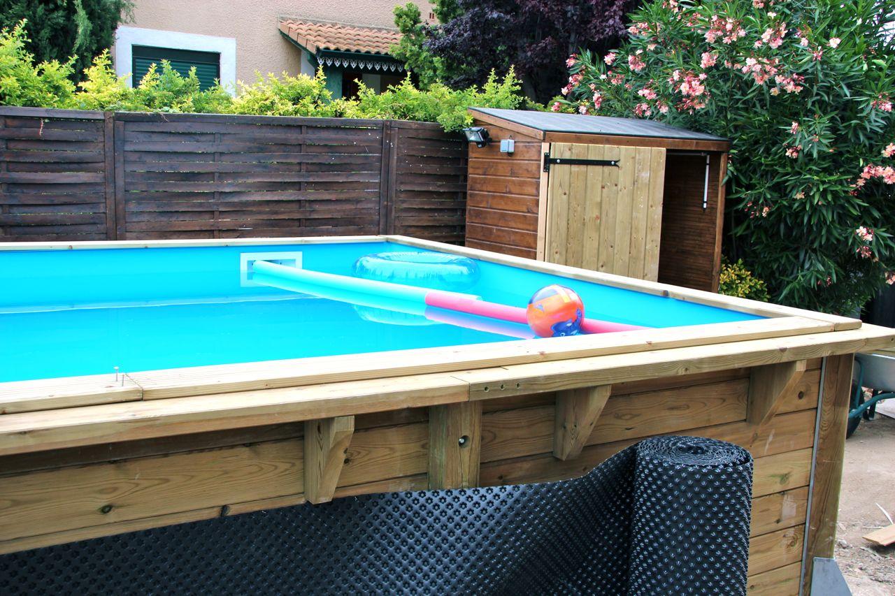 Swimming pool my expat life that s hamori for Homemade wading pool