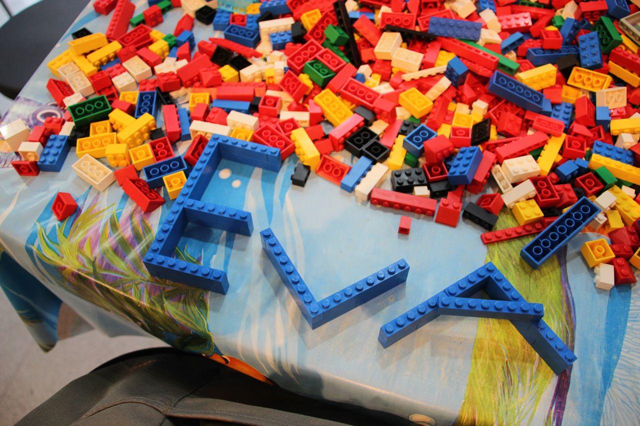building lego as a family