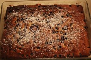 Meggyes, Hungarian Sour Cherry Cake   That's Hamori!