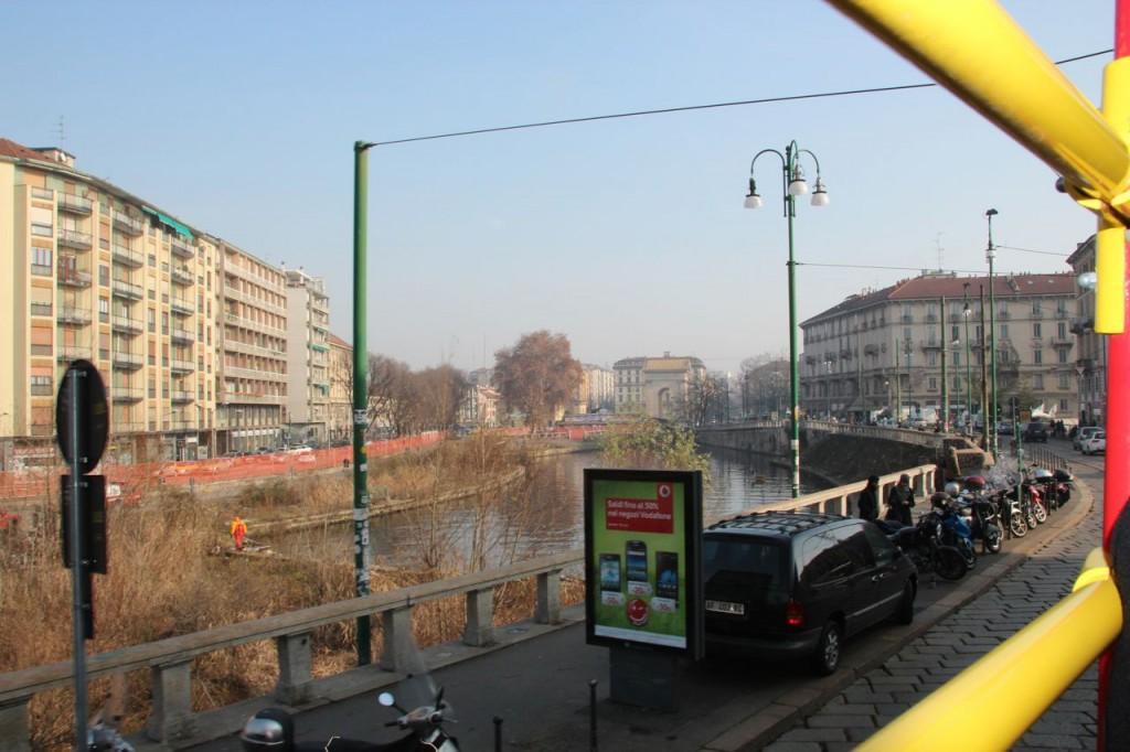 Milan Canal Da Vinci's Lock