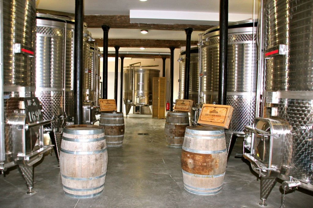 Carrasse Wine Tanks
