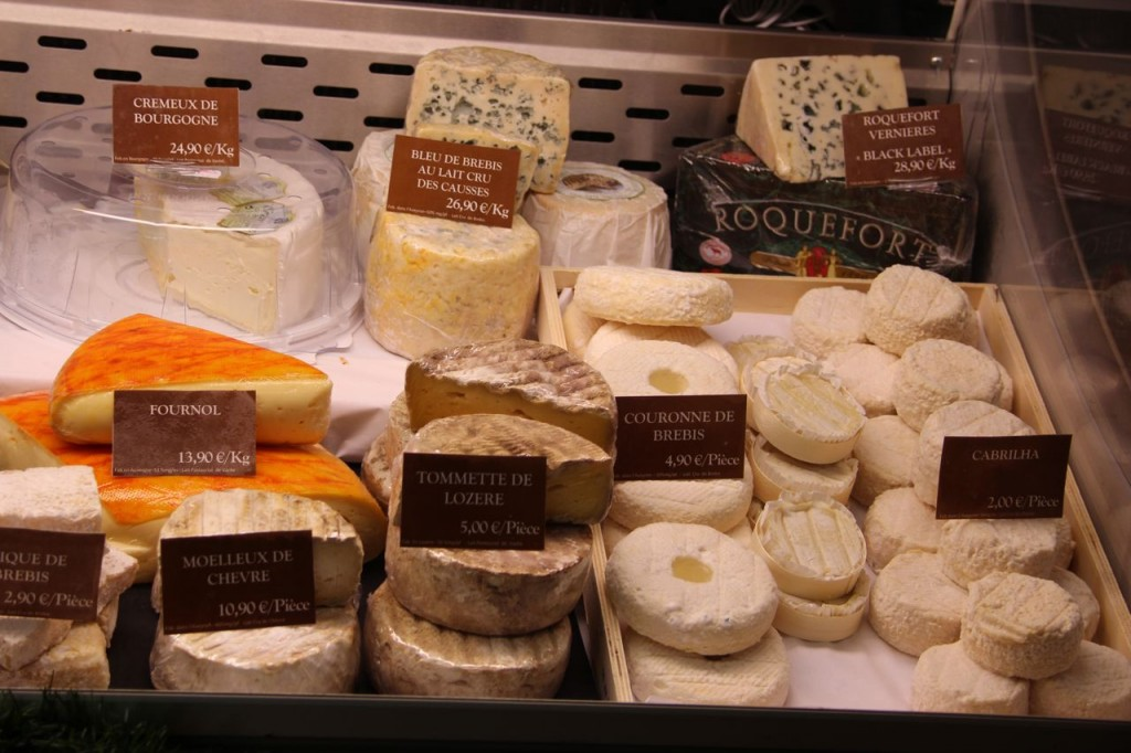 Cheese Shop Display