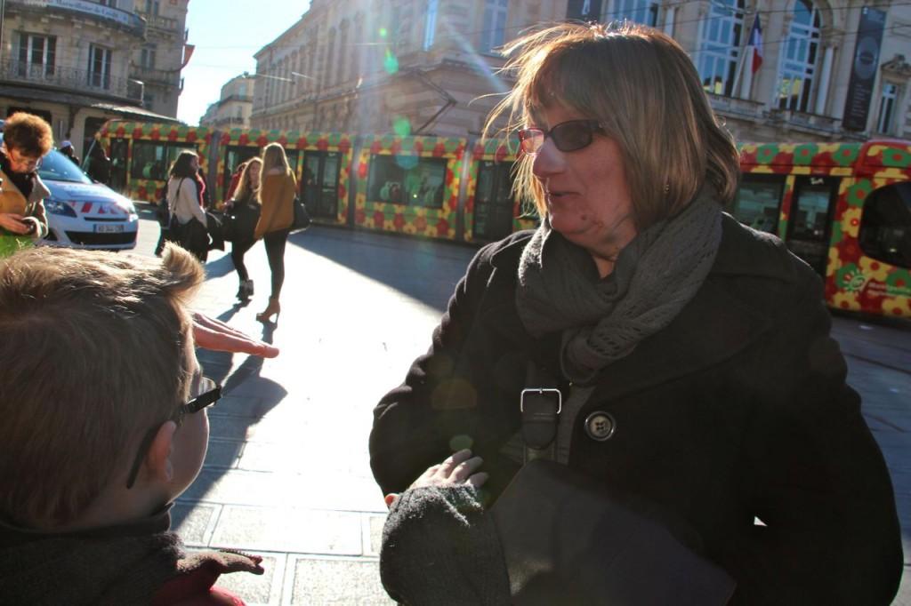 Sunshine on us at Montpellier