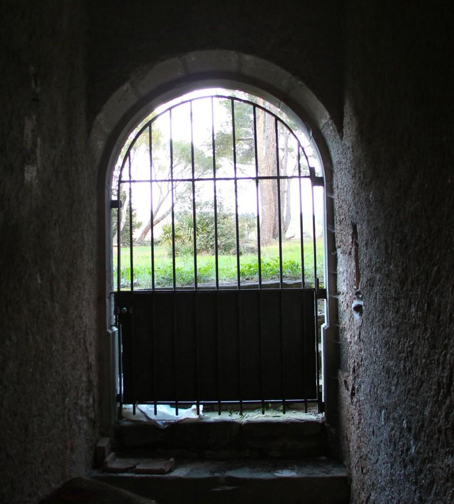 Back yard entrance
