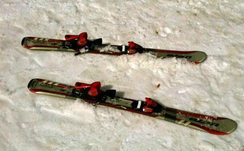 Ange's skis
