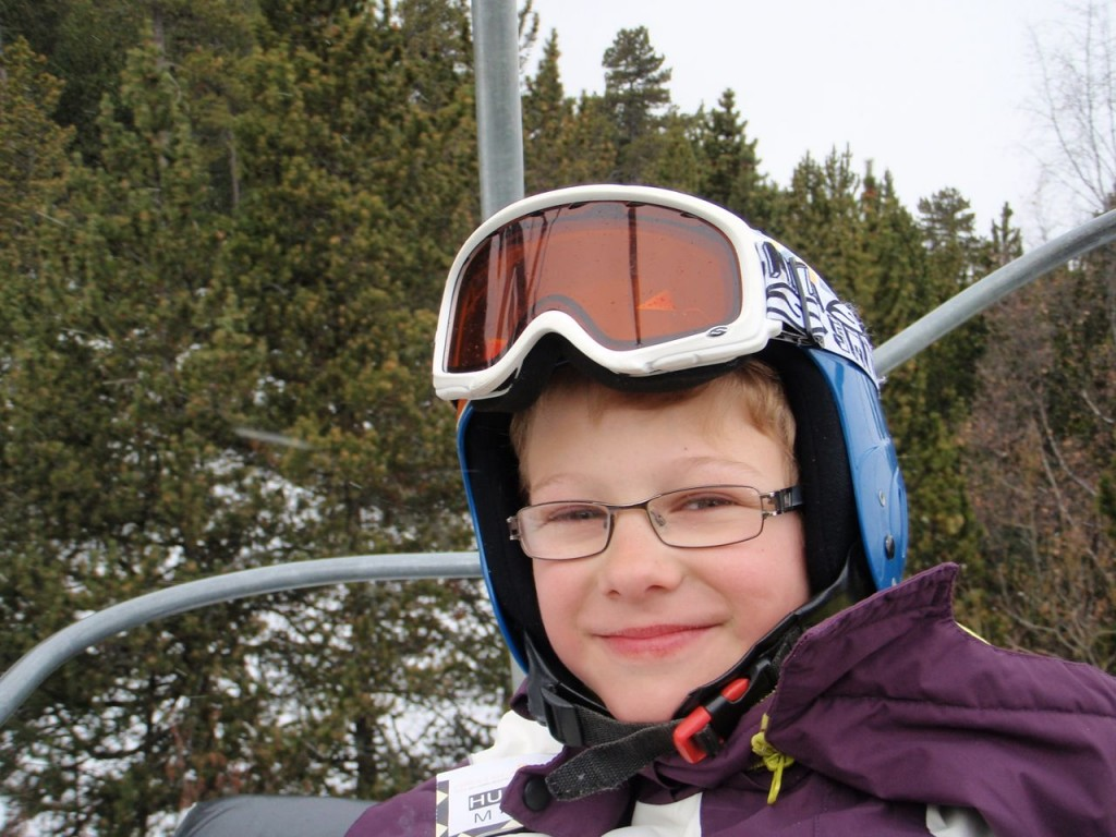 Daniel skis the pyrenees