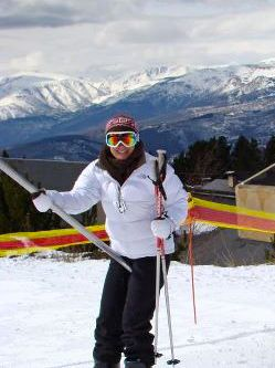 I ski for the first time in twenty years