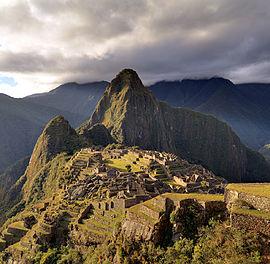 south america's inca ruin