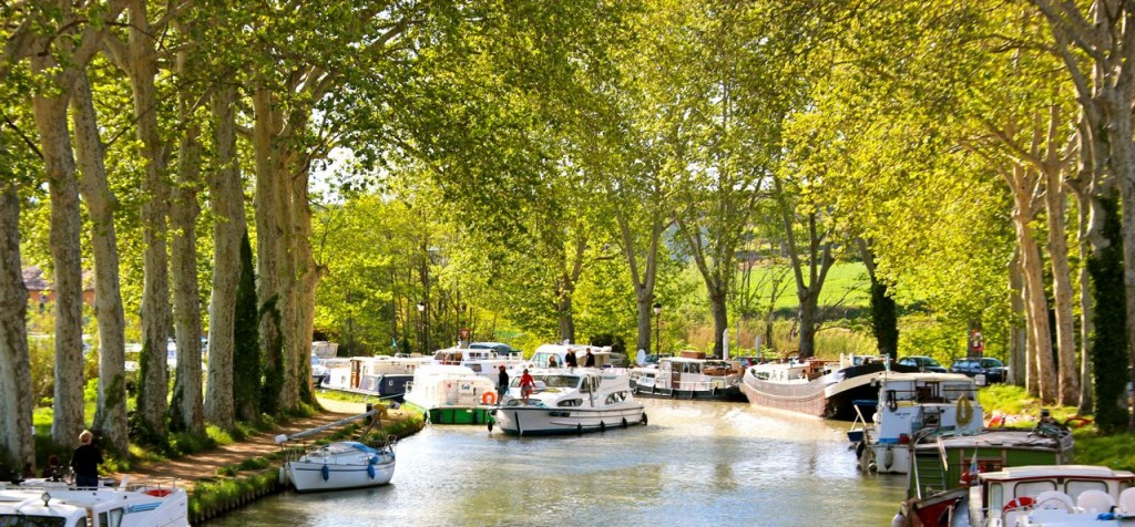 Capestang Canal DU Midi