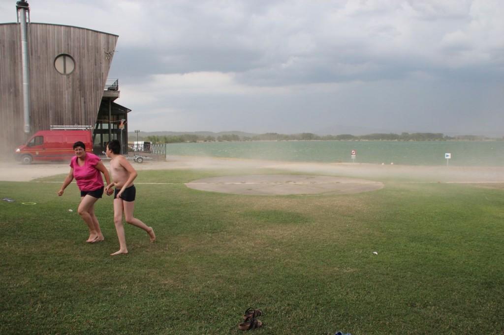 Homps Lake Storm