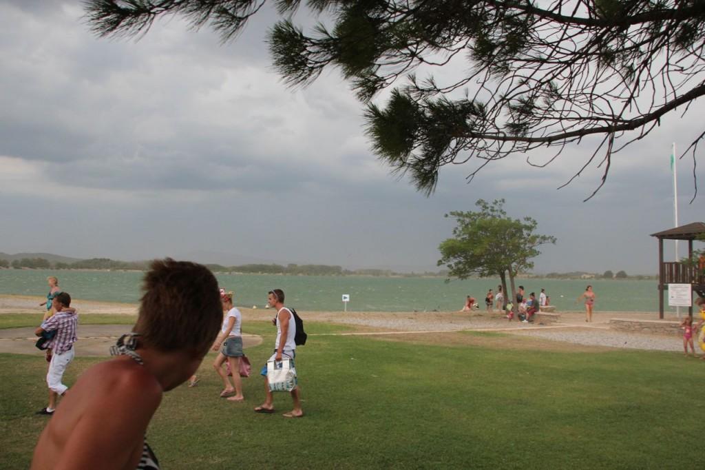 Homps Lake Summer storm