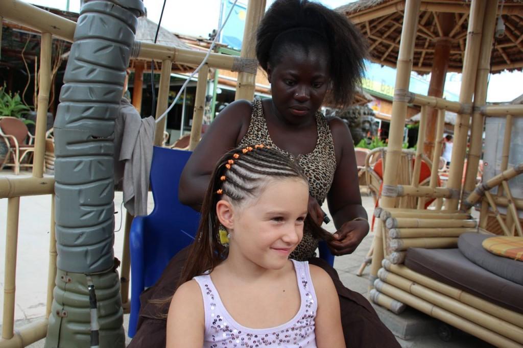 vias plage braids