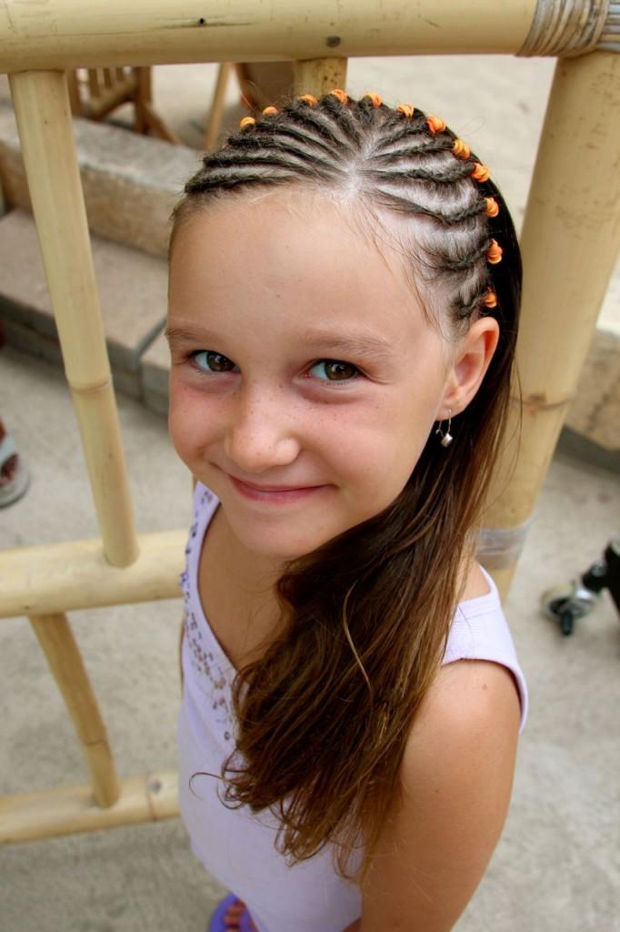 Angelina loves her new hair do