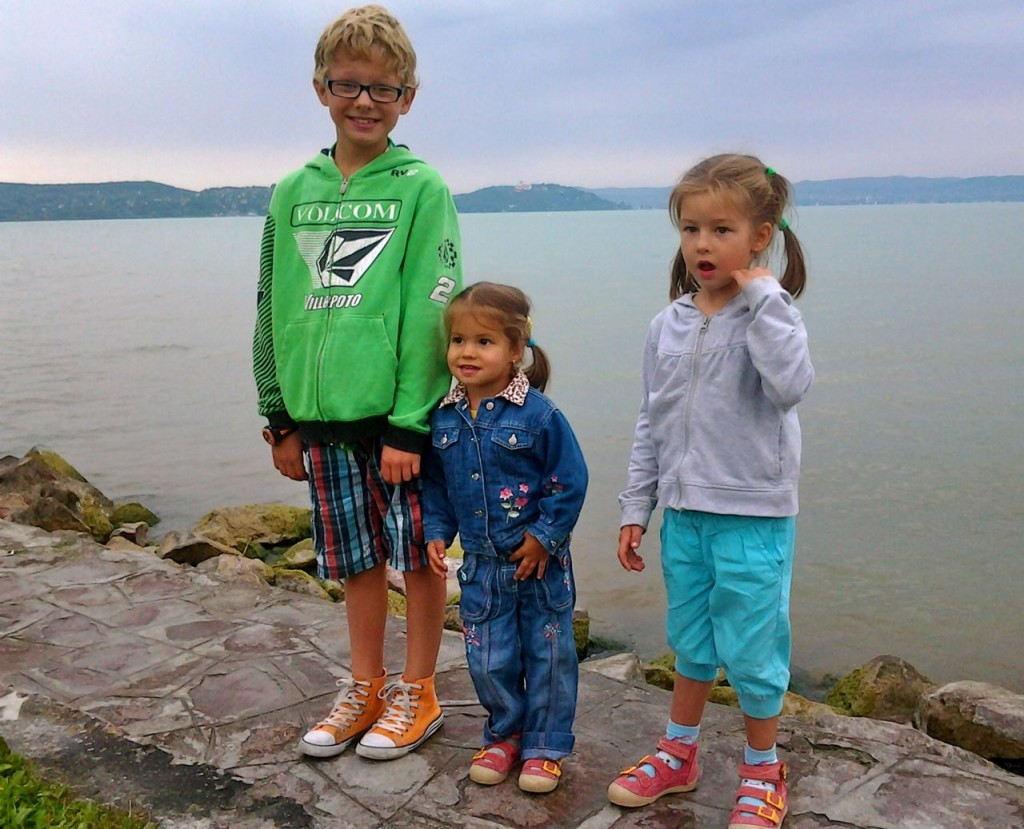 Daniel visits Lake Balaton