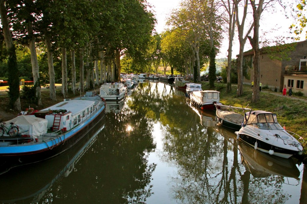 Summer End, Canal du Midi Capestang