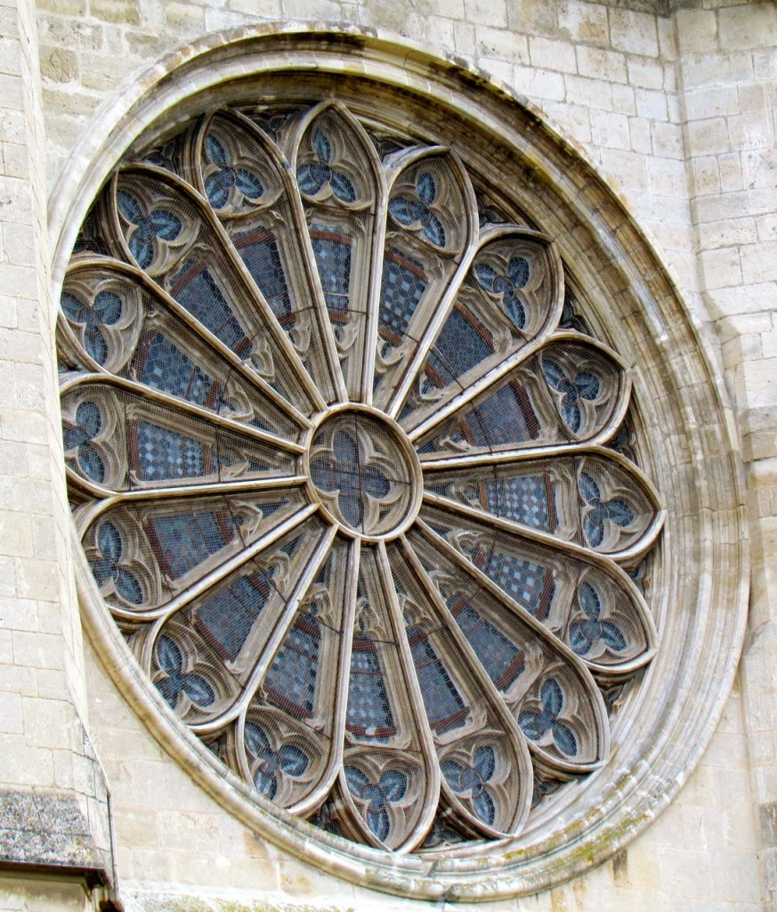 Beziers Church Window