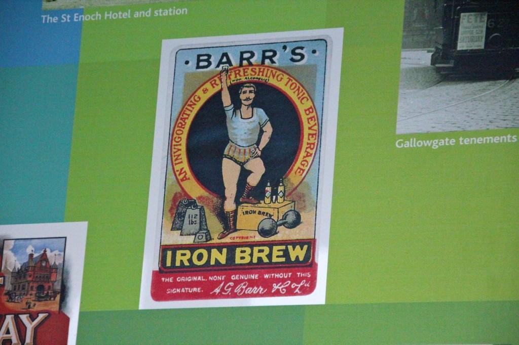 Irn Bru was once iron Brew