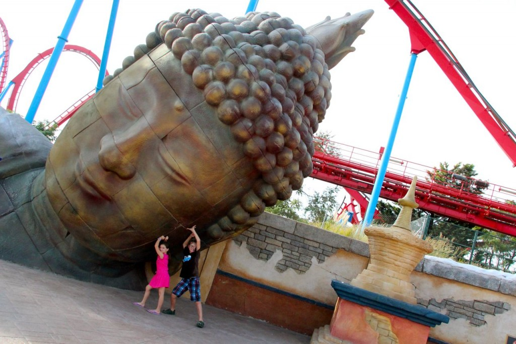 kids loved port aventura