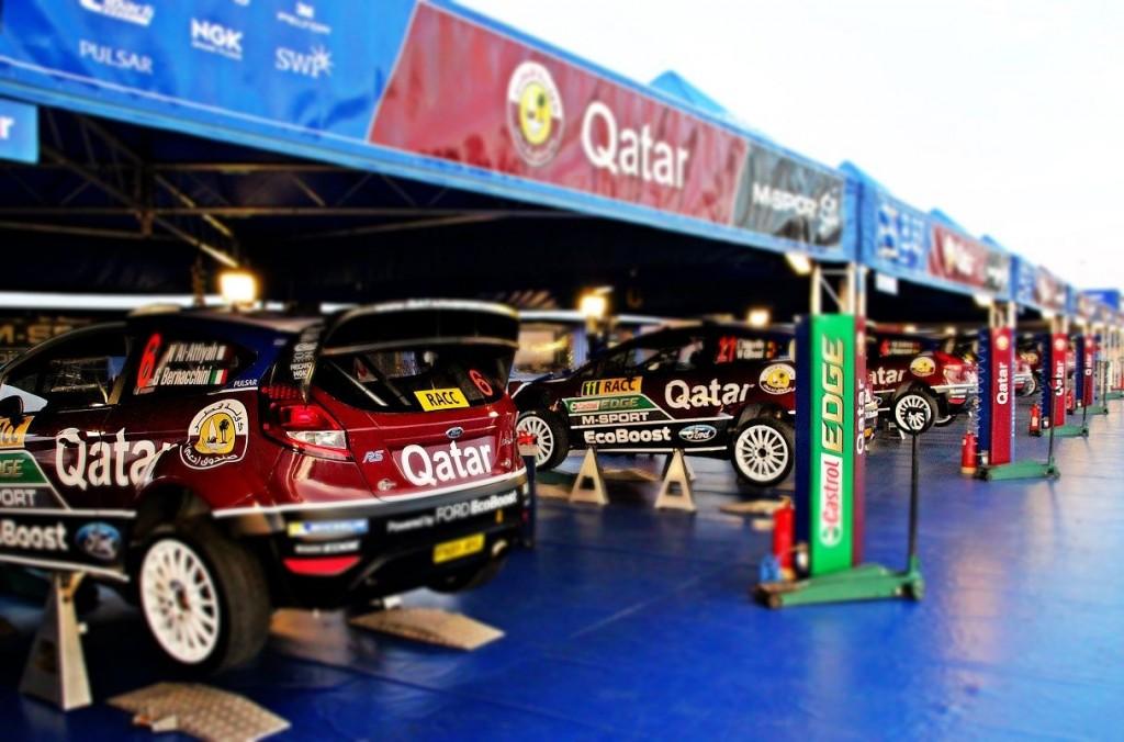 RACC Rally Race Salou Spain