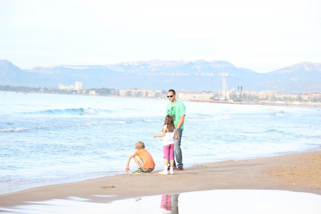 Beautiful beaches of Spain