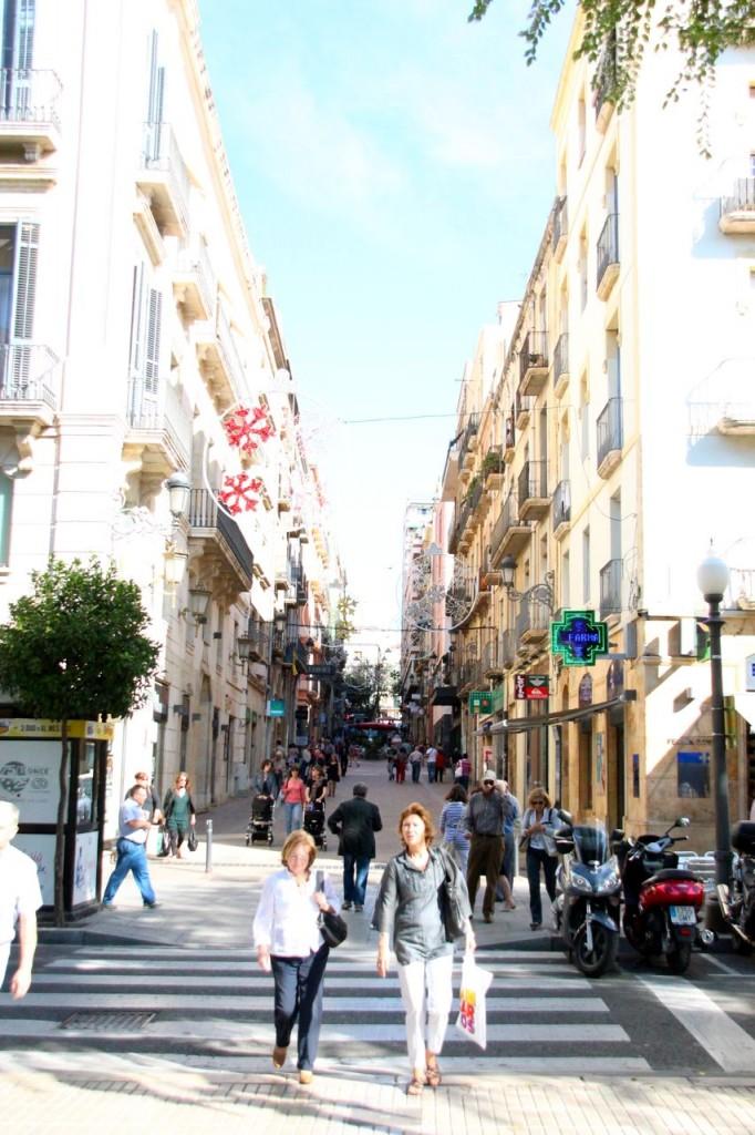 pretty streets of Tarragona