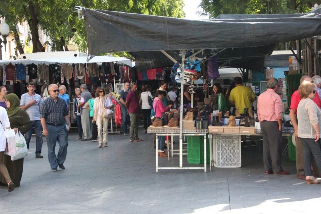 Market Day in Tarragona on the Rambla