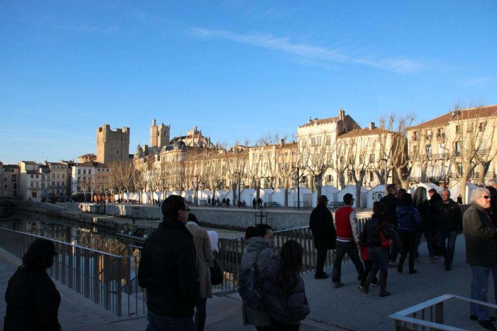 Canal de la Robine runs through Narbonne