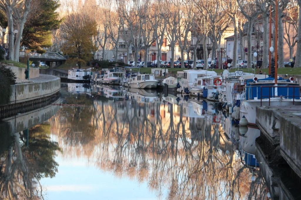 Narbonne's Canal de la Robine