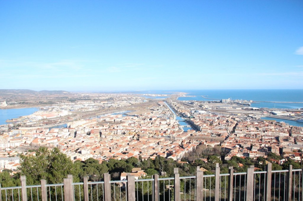 Sète View from Mountain Top