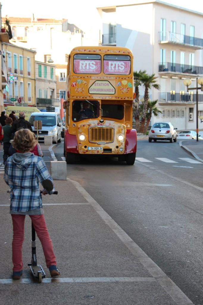 Double-decker Bus Sete