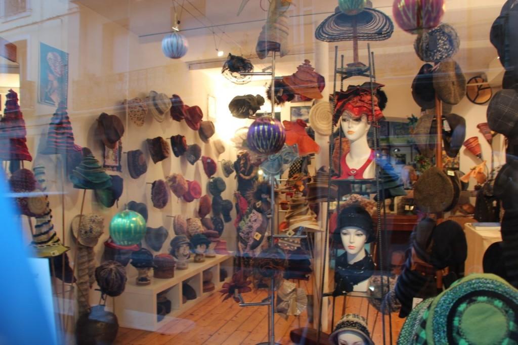 Sete's Hat Store Front