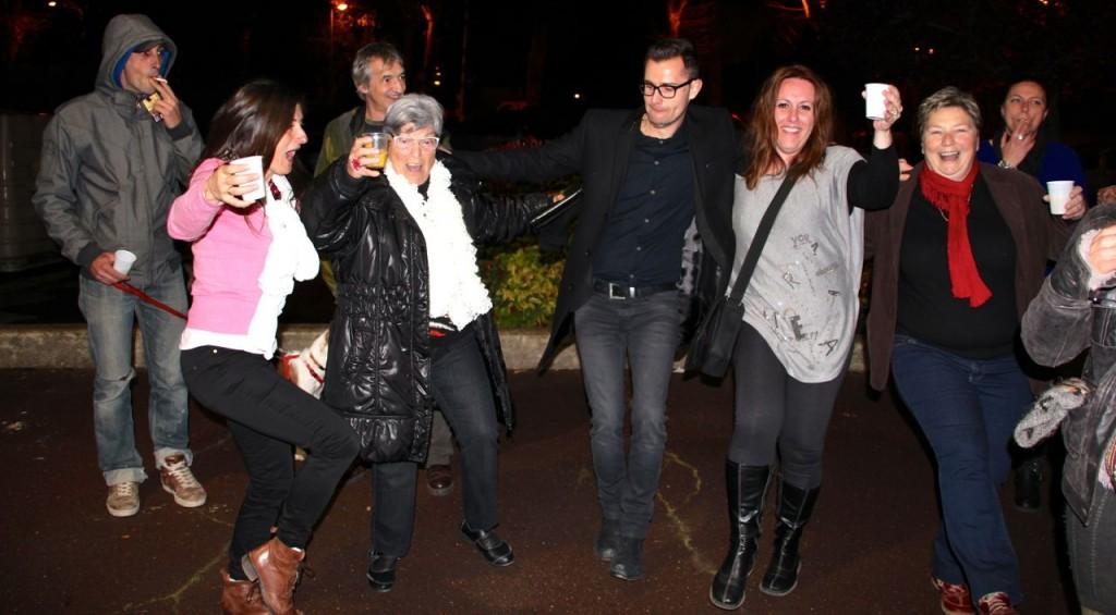 Un avenir pour Capestang- Danse de la victoire