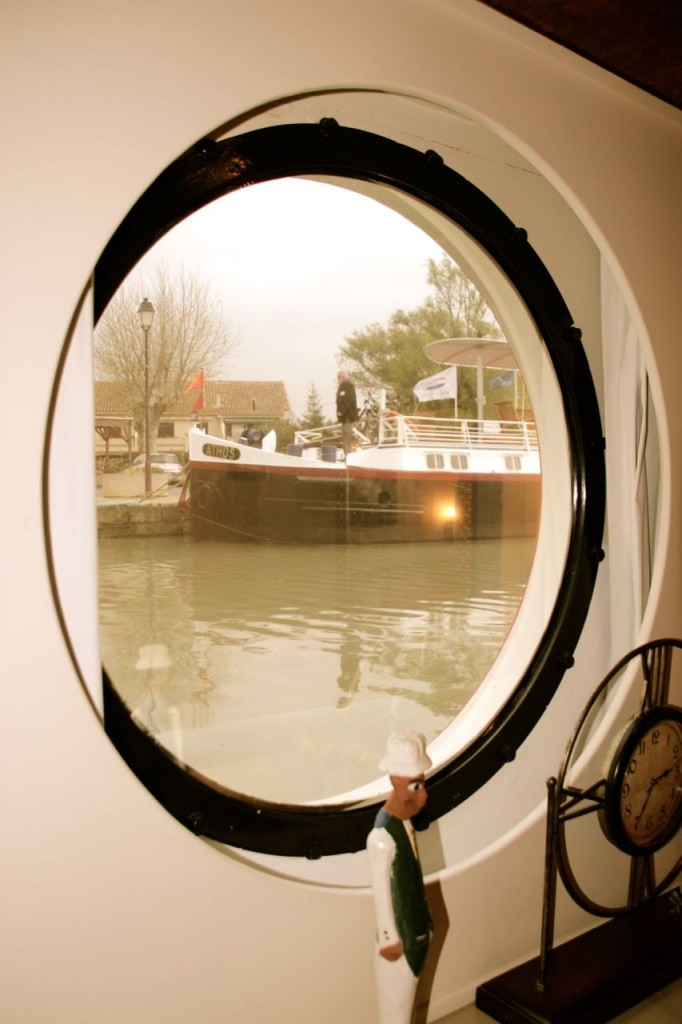 Athos through Porthole