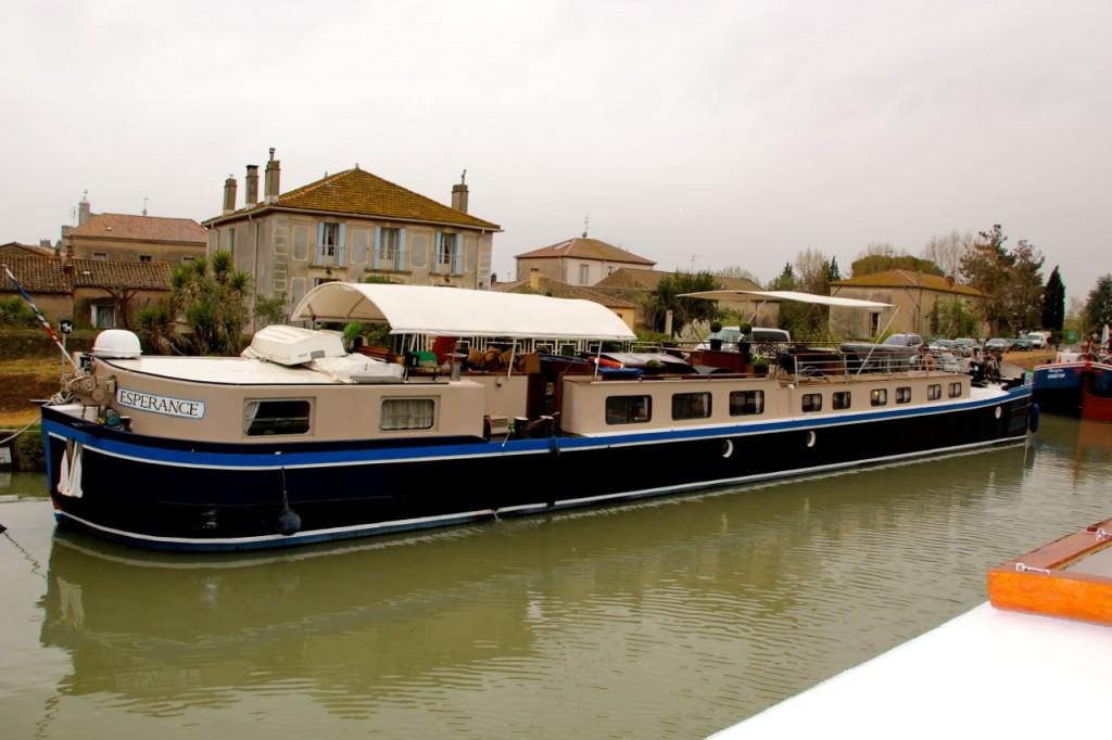 Esperance Lux Barge Canal du Midi
