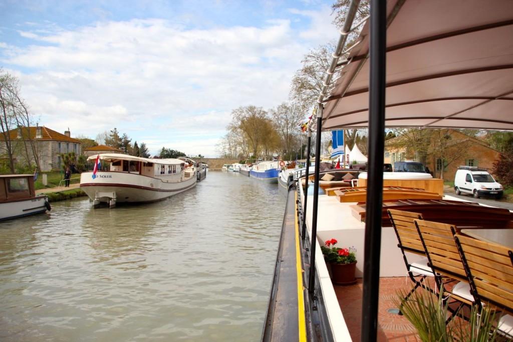 Port de Capestang Canal du Midi