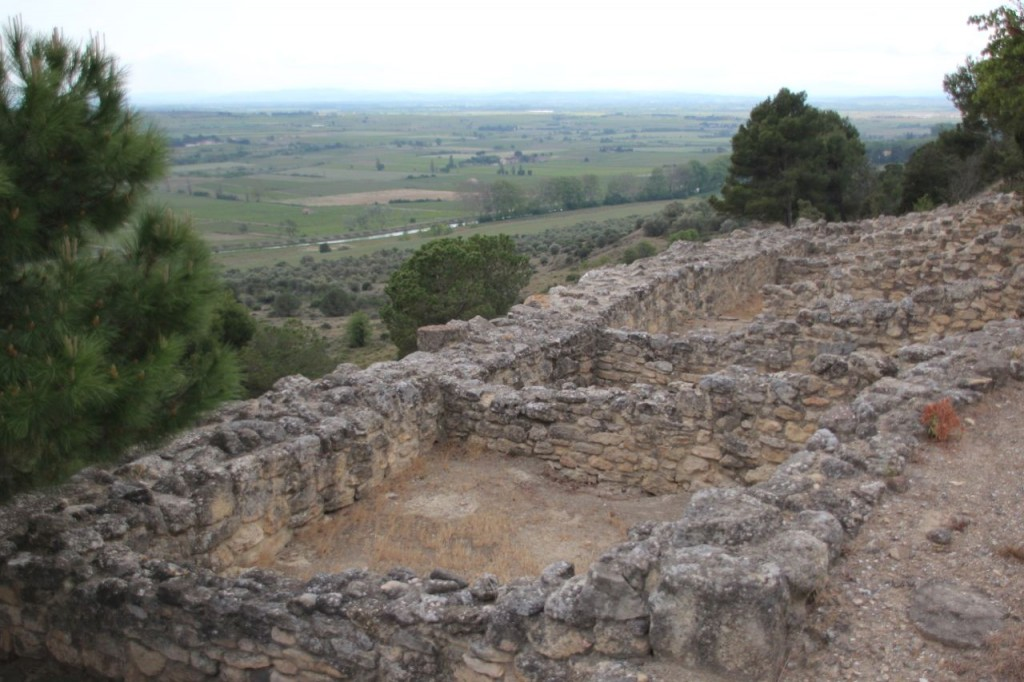 archaeological site minutes from Capestang