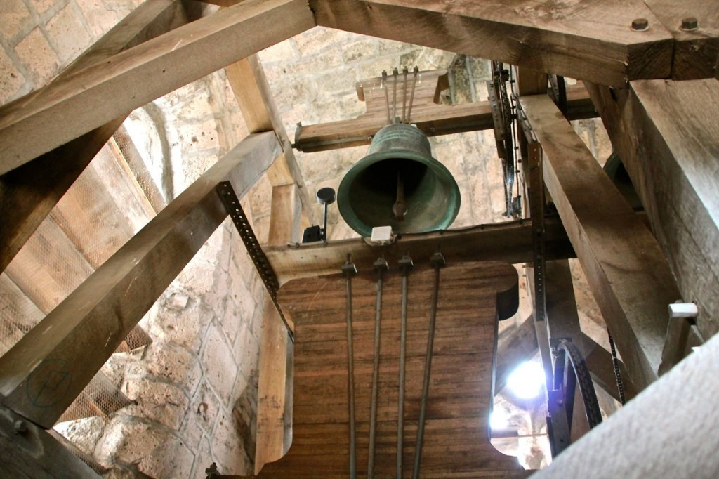 Capestang bell tower views