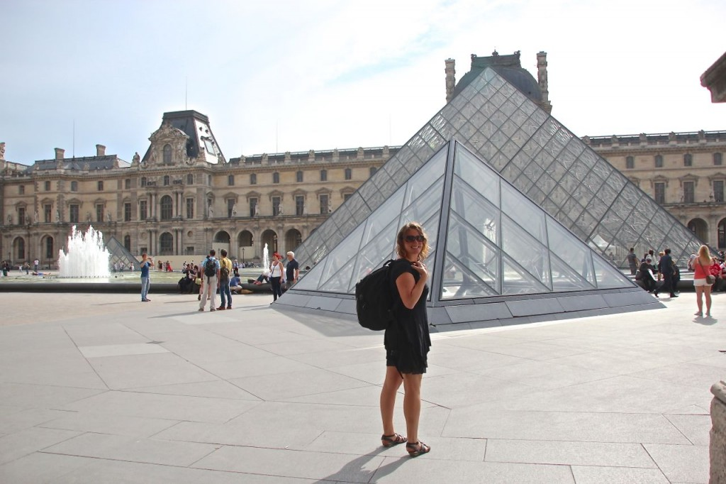 Paris Pyramid Louvre