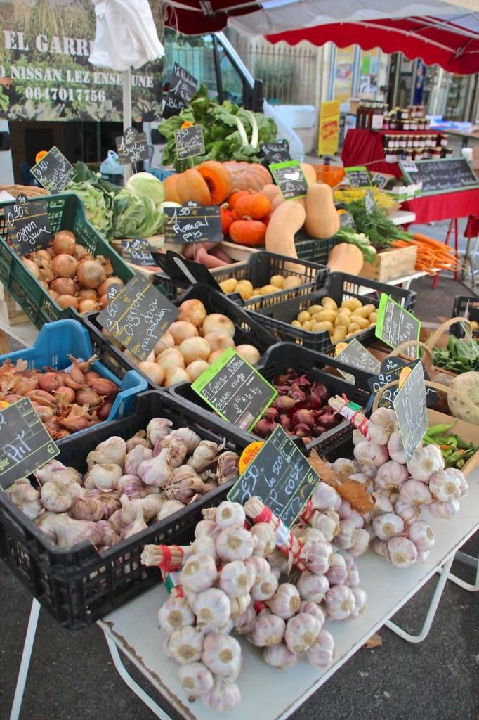 Farmers markets in France