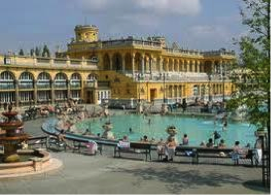 Hungarian Hot Spring Baths
