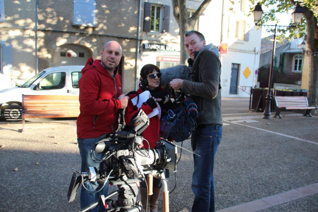 House Hunters International film crew in Capestang