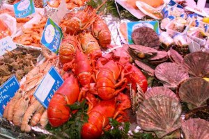 Barbonne markets - Seafood