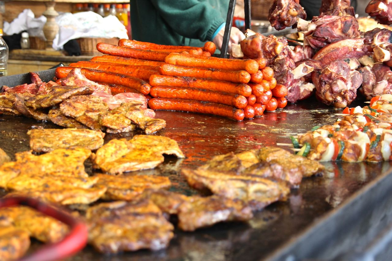Hungarian Love Meat Christmas Markets